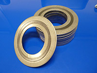 Spiral Wound Gaskets manufactured with Stainless Steel Inner & Outer Rings