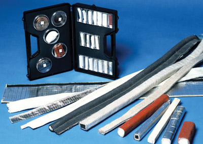 Door Seals, Tadpole Tapes, Lid Seals & Furnace Door Seals